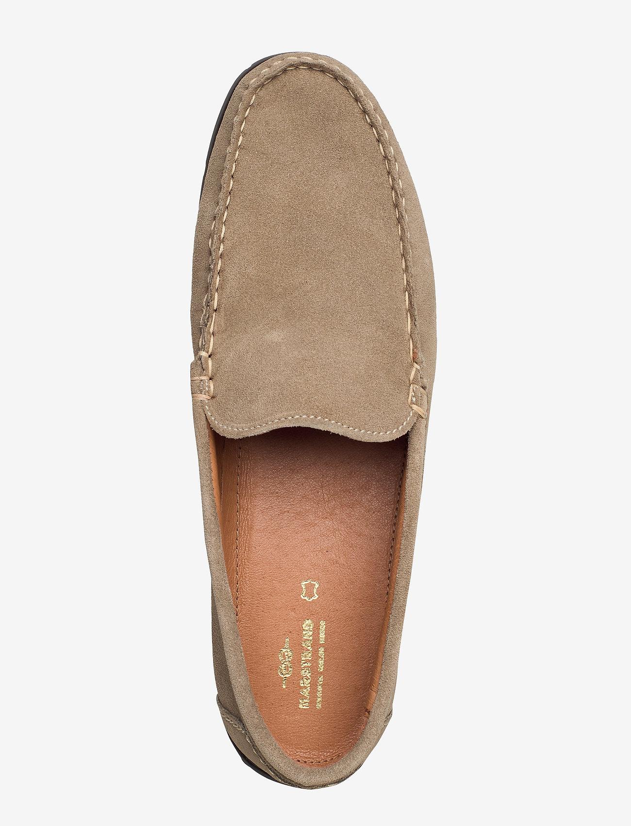 Plain Driving Loafer Sde (Beige) - Marstrand