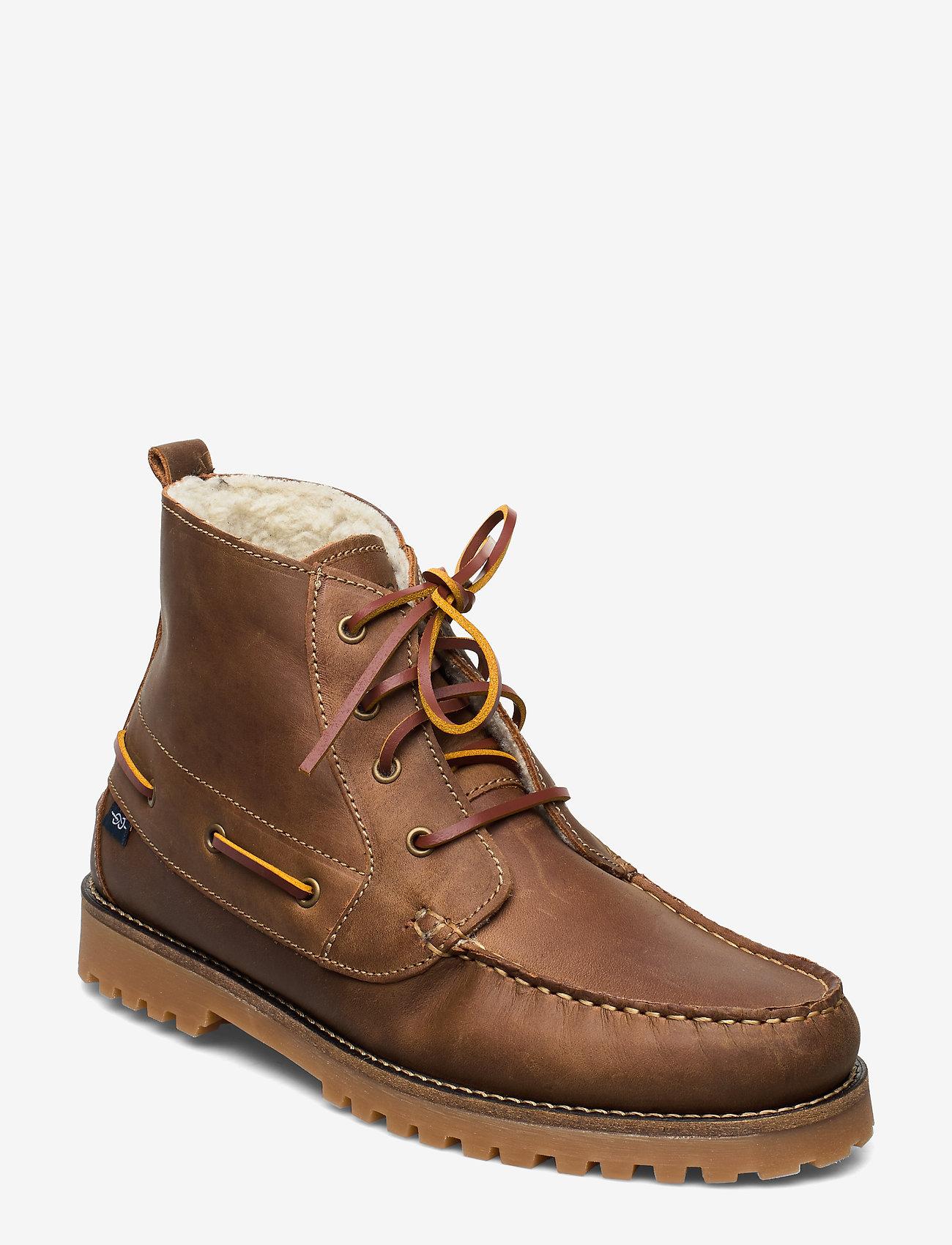 Marstrand - ROUGH 4-EYE WARM MARSTRAND KÄNGA - vinter boots - taupe - 0