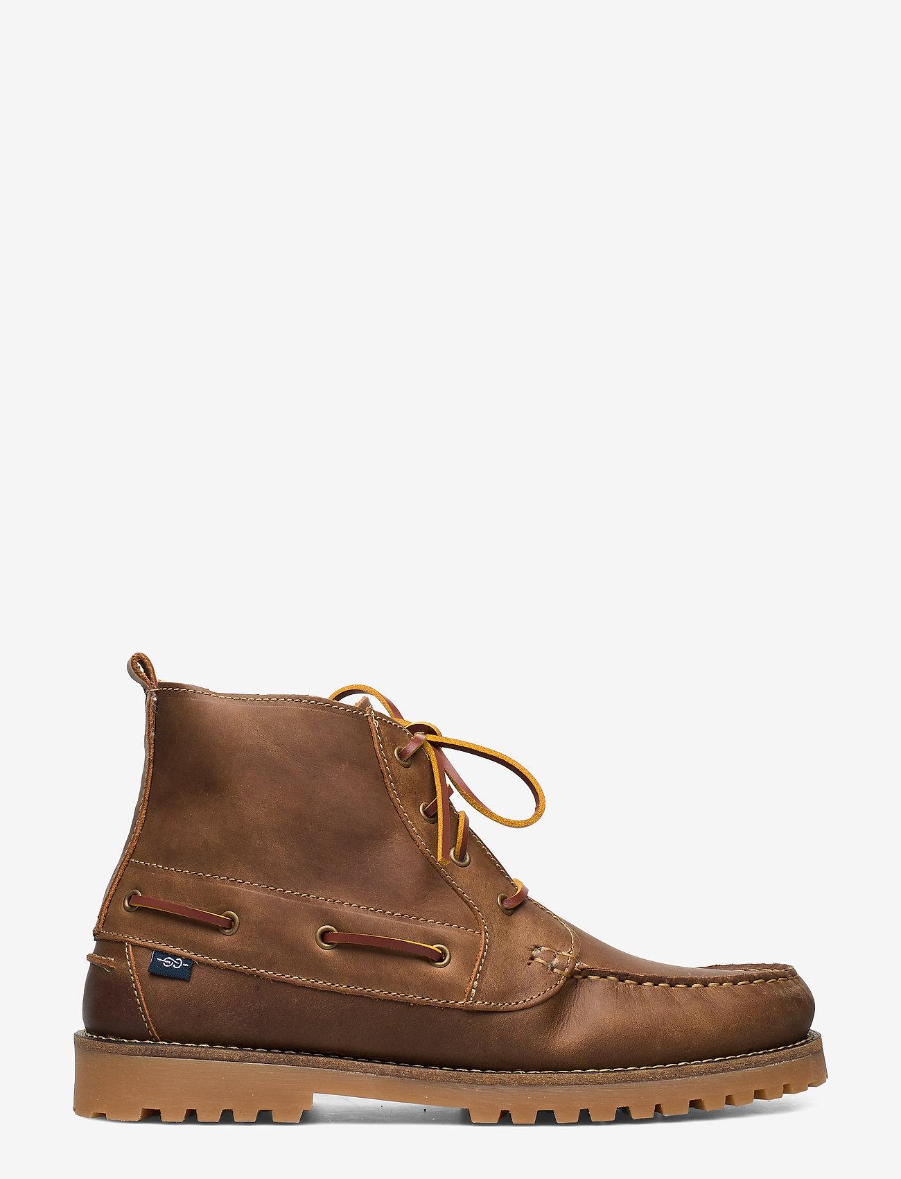 Marstrand - ROUGH 4-EYE WARM MARSTRAND KÄNGA - vinter boots - taupe - 1