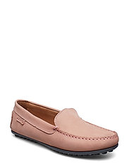 PLAIN DRIVING LOAFER WMN - LIGHT PINK