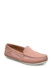 PLAIN DRIVING LOAFER WMN - PINK