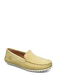 PLAIN DRIVING LOAFER WMN - YELLOW