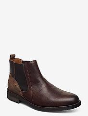 Marstrand - ALFIE MARSTRAND KÄNGA - chelsea boots - dark brown - 0