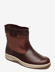 SAILING BOOT LO LTH - vinter boots - brown