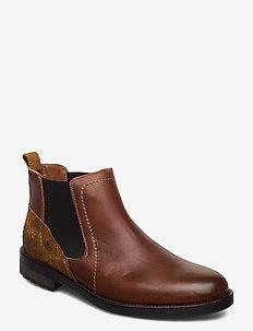ALFIE MARSTRAND KÄNGA - chelsea boots - cognac