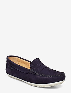 DRIVING LOAFER SDE WMN - NAVY
