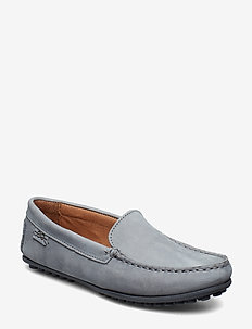 PLAIN DRIVING LOAFER WMN - LIGHT BLUE