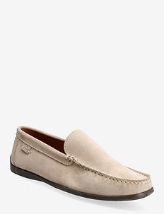 DRIVING LOAFER SDE - BEIGE