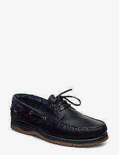 PH 3-EYE - buty na łódź - navy