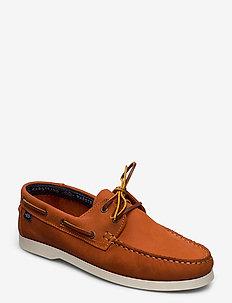 2-EYE NBK - buty na łódź - dk.orange