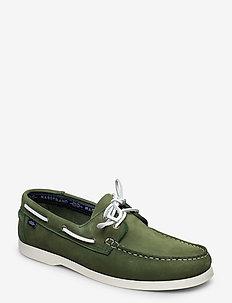 2-EYE NBK - chaussure bateau - green