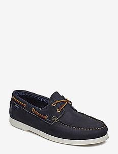 2-EYE NBK - boat shoes - navy