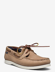2-EYE NBK - chaussure bateau - taupe