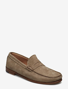 CASUAL DRESS LOAFER - TAUPE