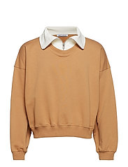 CONNOR TURTLENECK - INDIAN TAN - MARSMALLOW