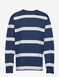 NICK LONG SLEEVE - TRUE BLUE STRIPE