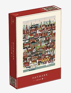 Danmark Jigsaw puzzle (1000 pieces) - interiör - multi color