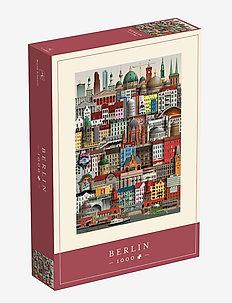 Berlin Jigsaw puzzle (1000 pieces) - dekorationer - multi color