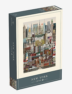 New York Jigsaw puzzle (1000 pieces) - dekorationer - multi color