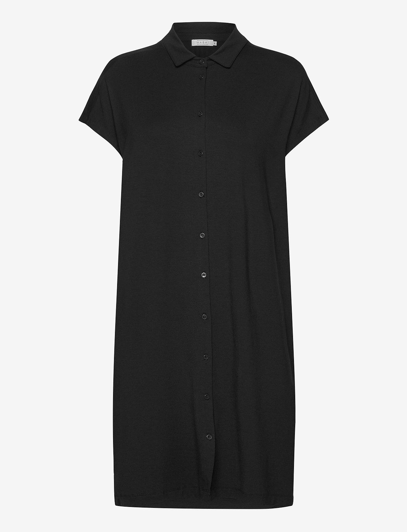 Masai - Odelli - sukienki koszulowe - black - 0
