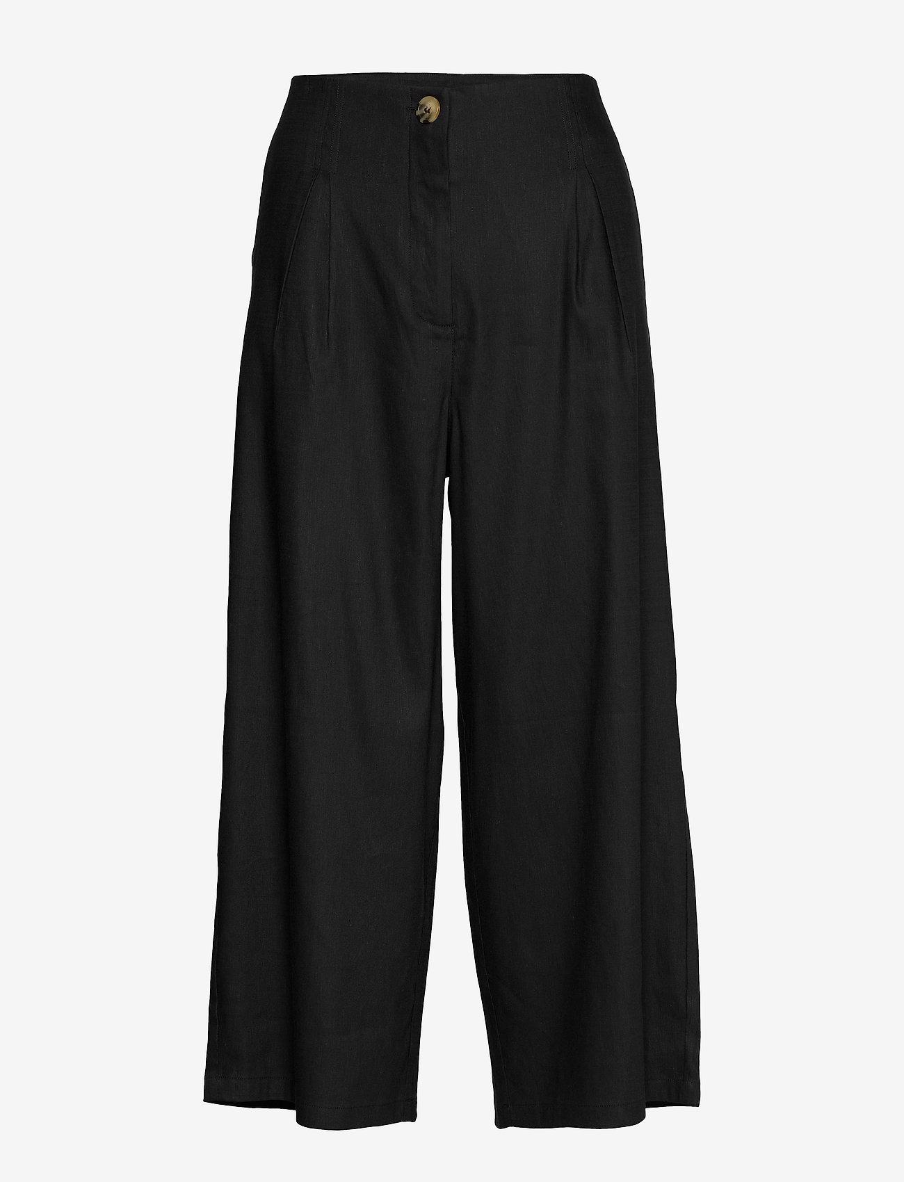 Masai - Paola - spodnie szerokie - black - 0