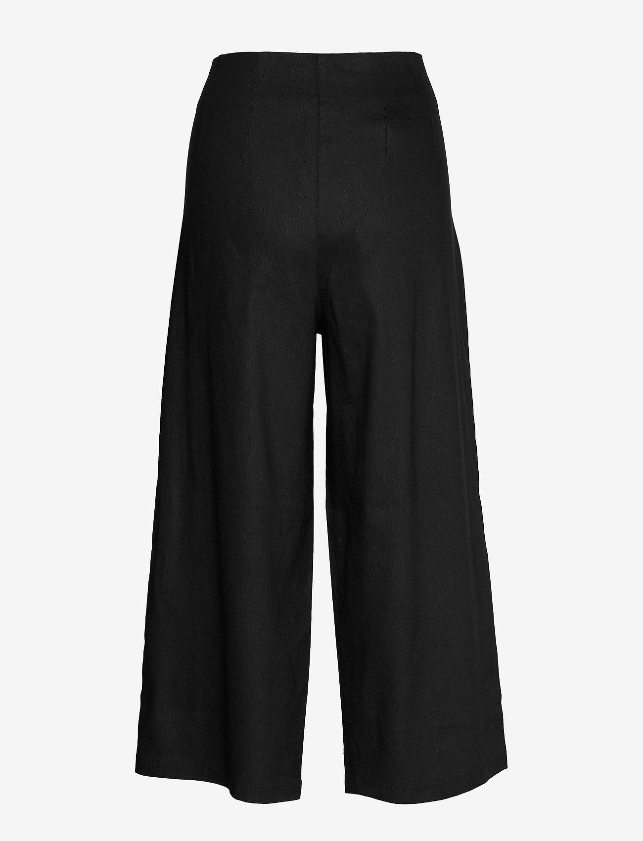 Masai - Paola - spodnie szerokie - black - 1