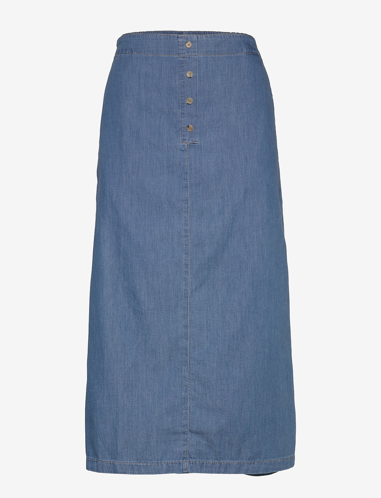 Masai - Sabina - jeansowe spódnice - l basic denim - 0