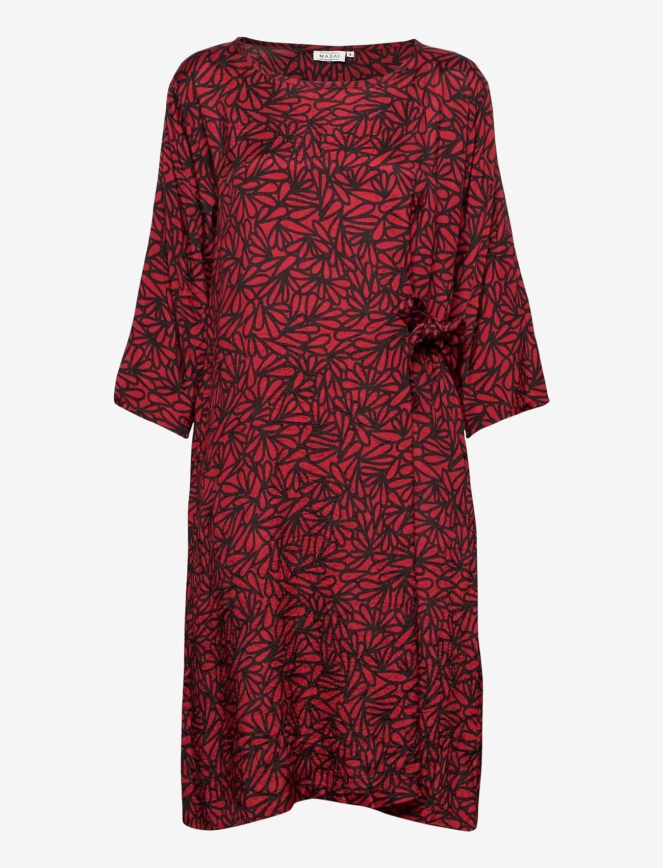 Masai - Nonie - sukienki na codzień - scarlet sage - 1