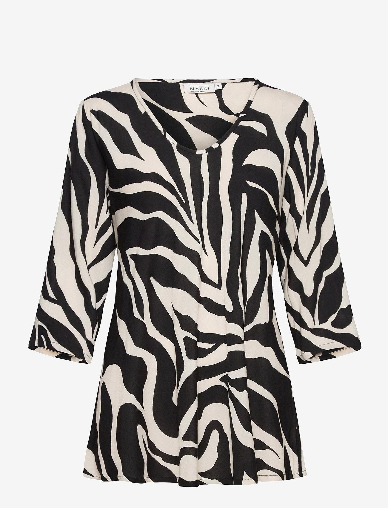 Masai - Kata - bluzki z długimi rękawami - black - 1