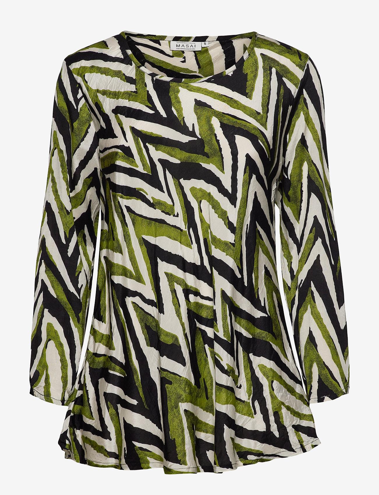 Masai - Kay - bluzki z długimi rękawami - woodbine - 1