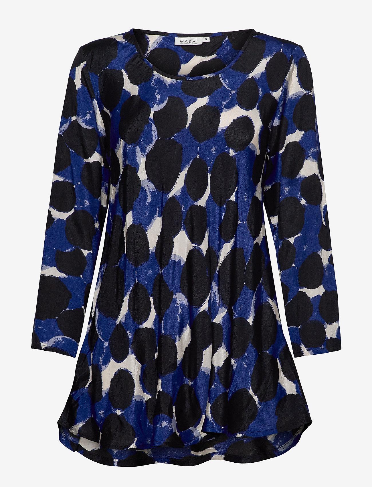 Masai - Kay - topy z długimi rękawami - clematis blue - 0