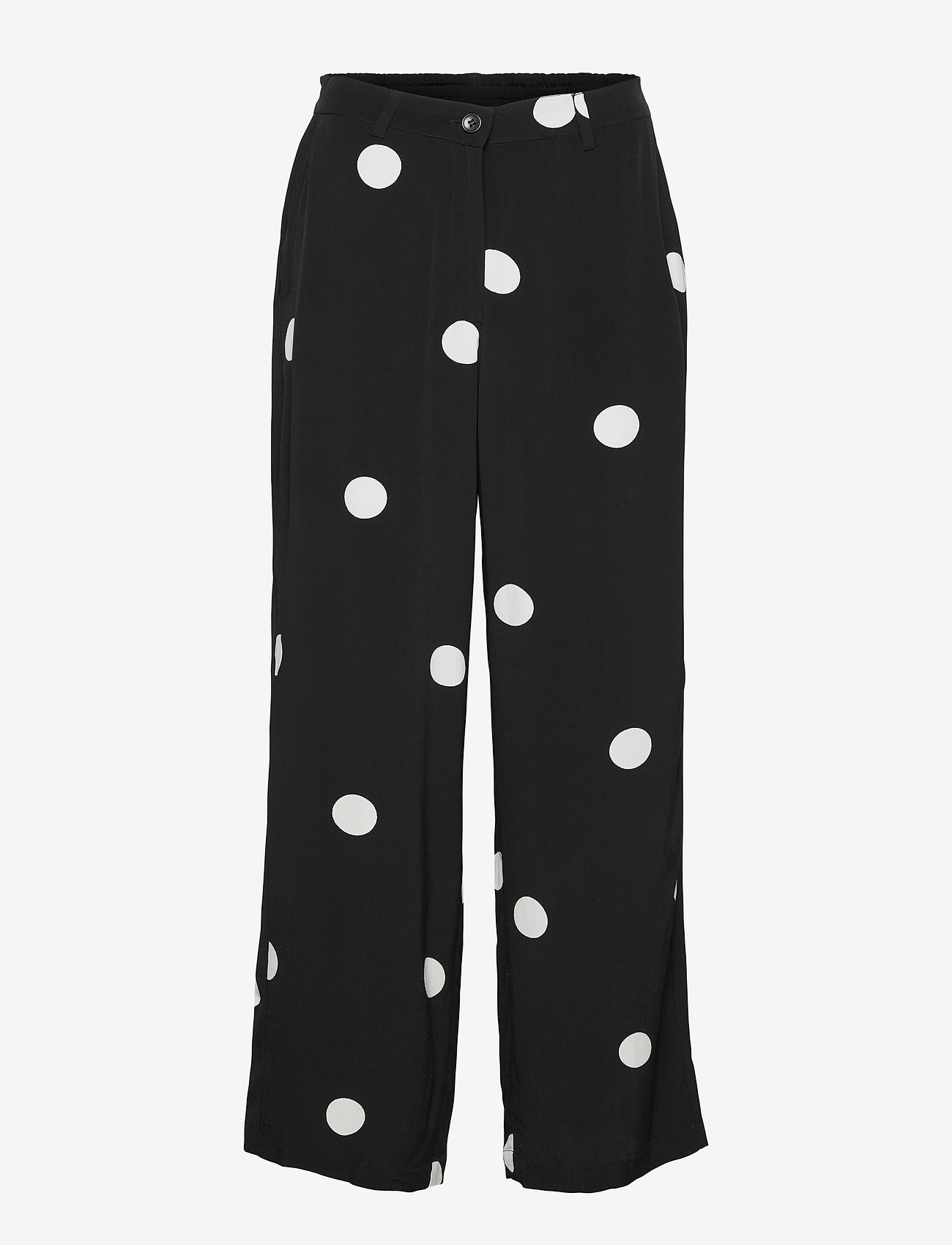 Masai - Perinua - bukser med brede ben - black - 1