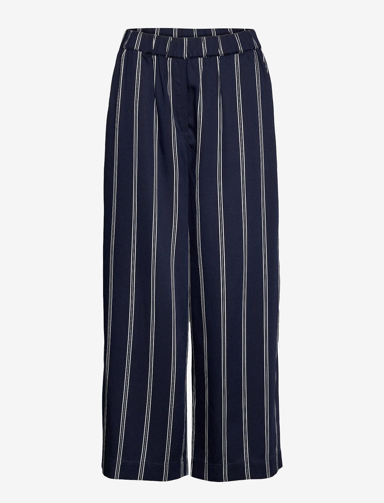 Masai - Pari - bukser med brede ben - navy - 0