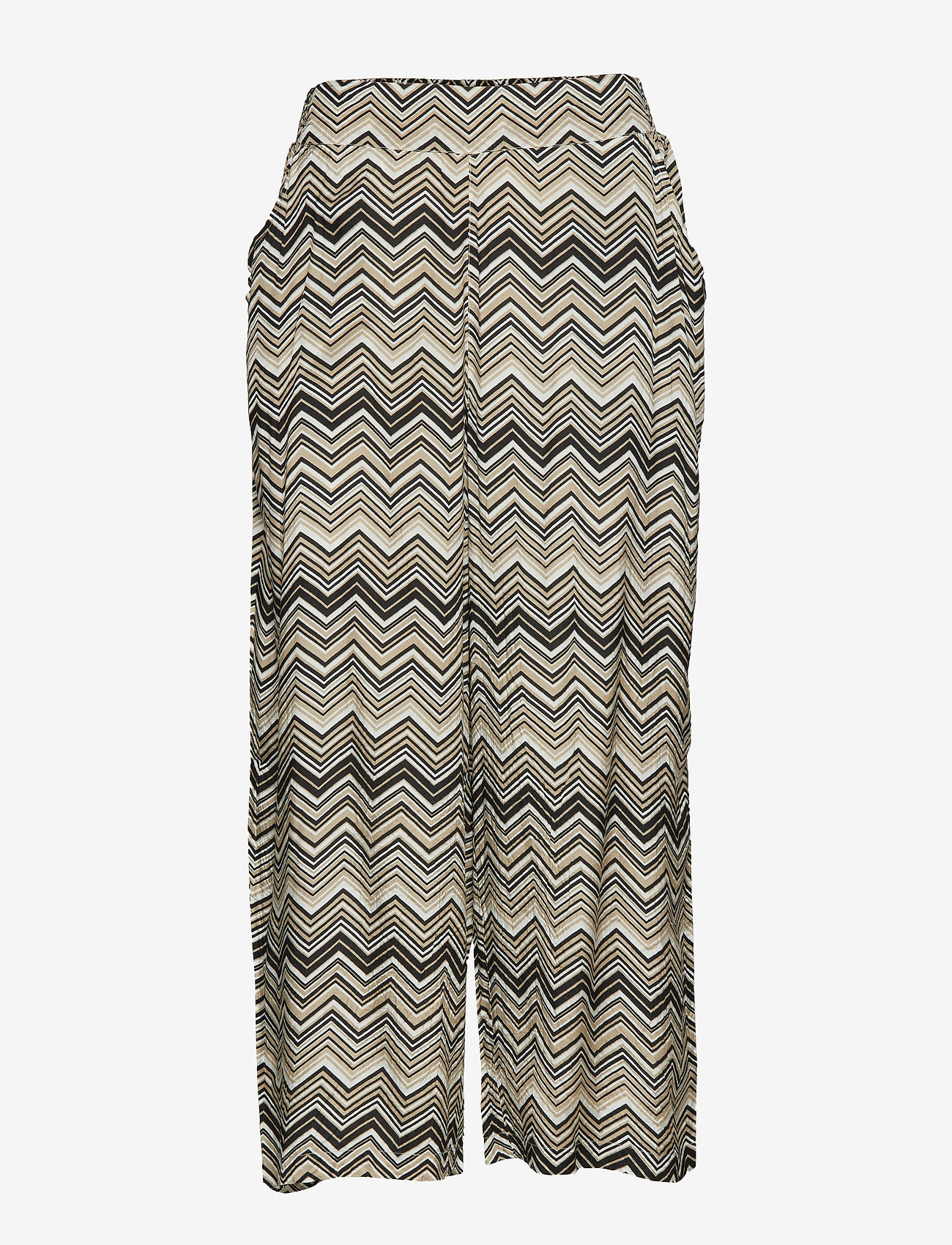 Masai - Palia culotte - leveälahkeiset housut - sand org