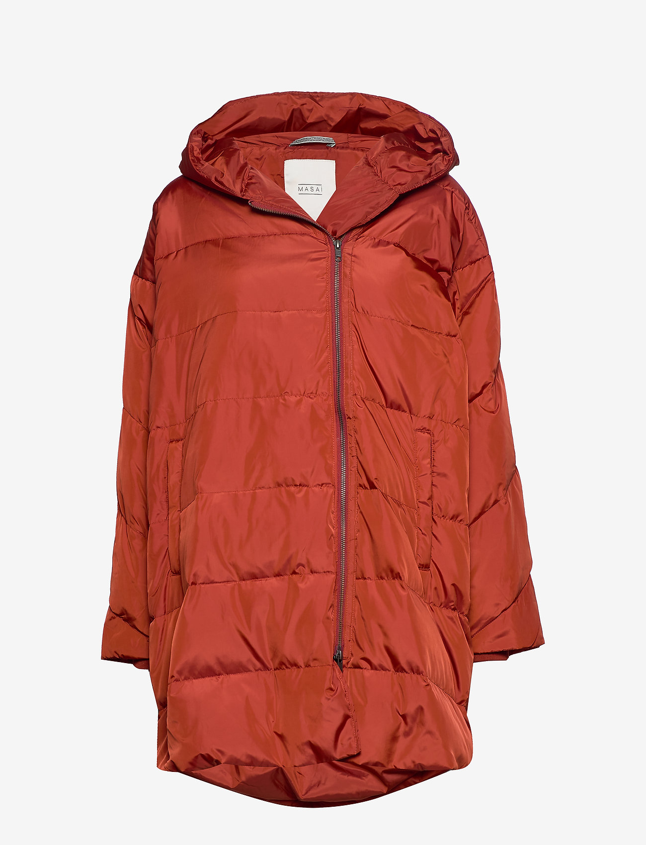 Masai - Tuala coat - padded coats - red ochre - 0