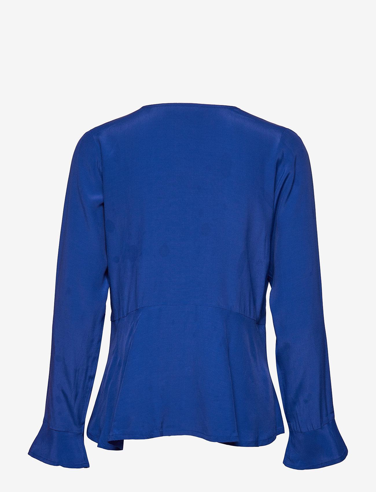 Masai - Irita blouse - bluzki z długimi rękawami - royal blue - 1