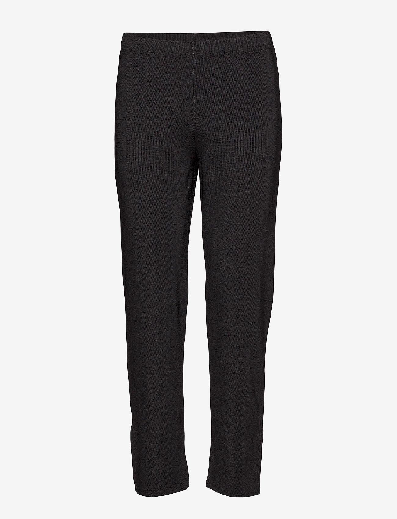 Masai - Polly - spodnie proste - black - 0