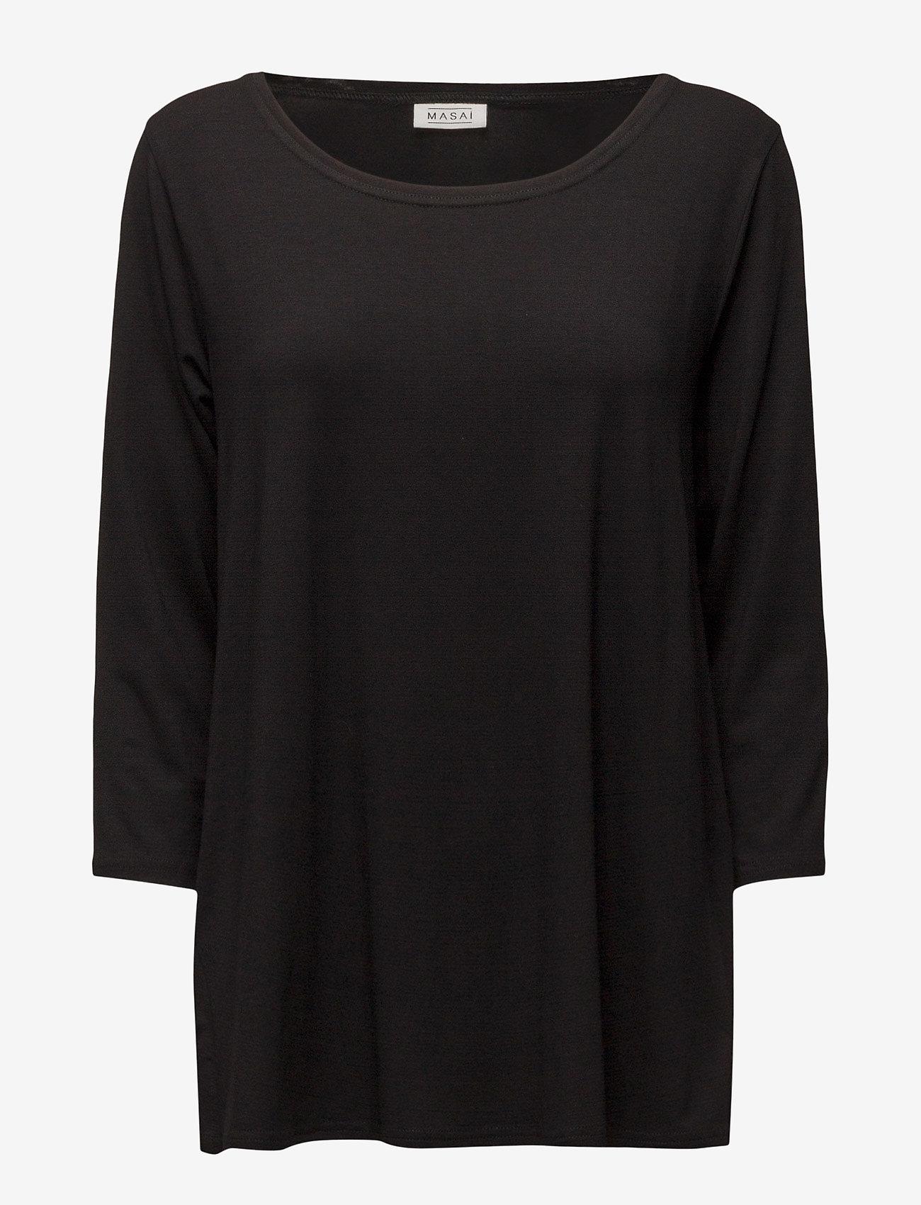 Masai - Cilla - topy z długimi rękawami - black - 0