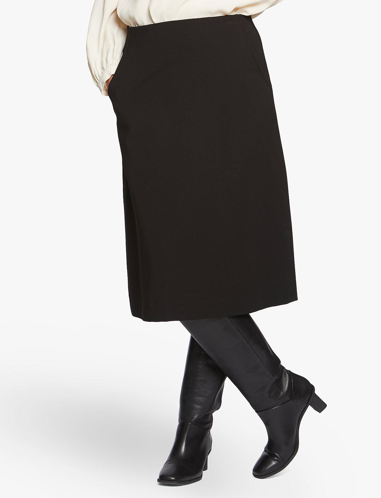 Masai - Sarita - spódnice do kolan i midi - black - 0