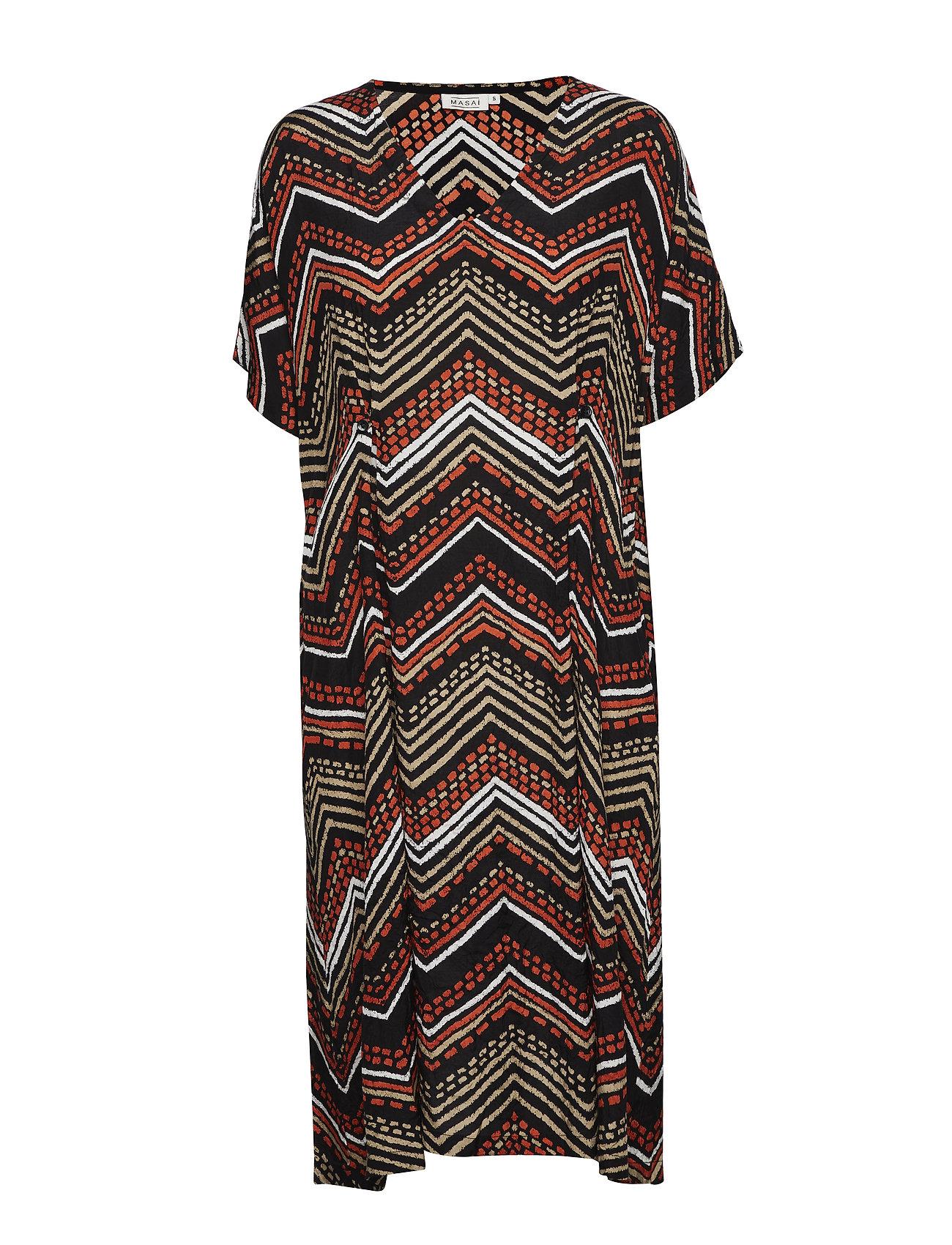Masai Nibia dress - FLAME ORG