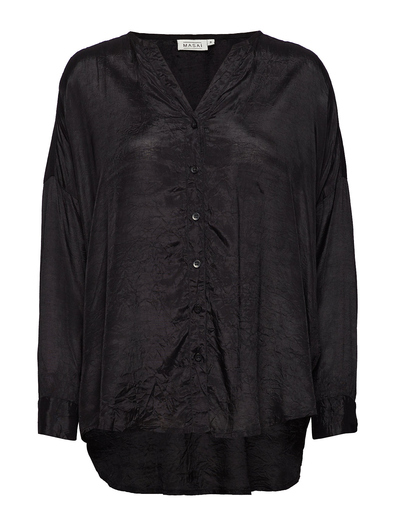 Masai Idalia blouse - BLACK