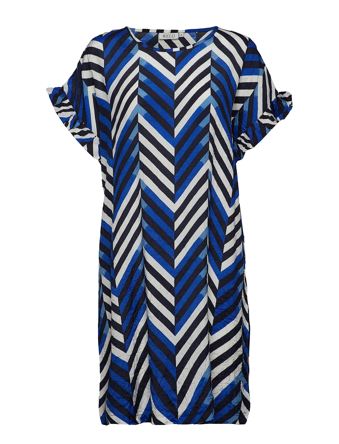 Masai Nara dress - G BLUE ORG