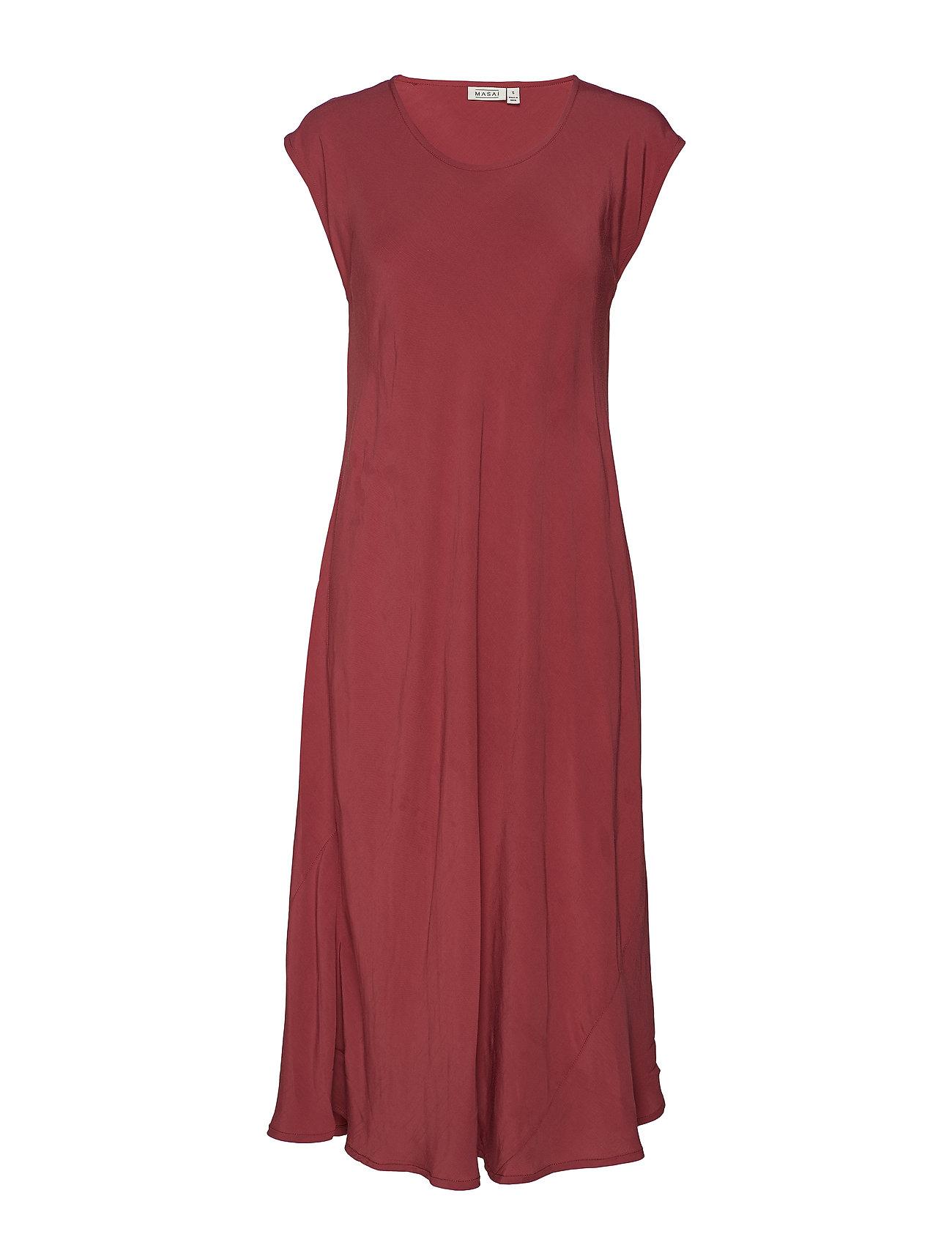 Masai Unni dress - BOYSENBERRY