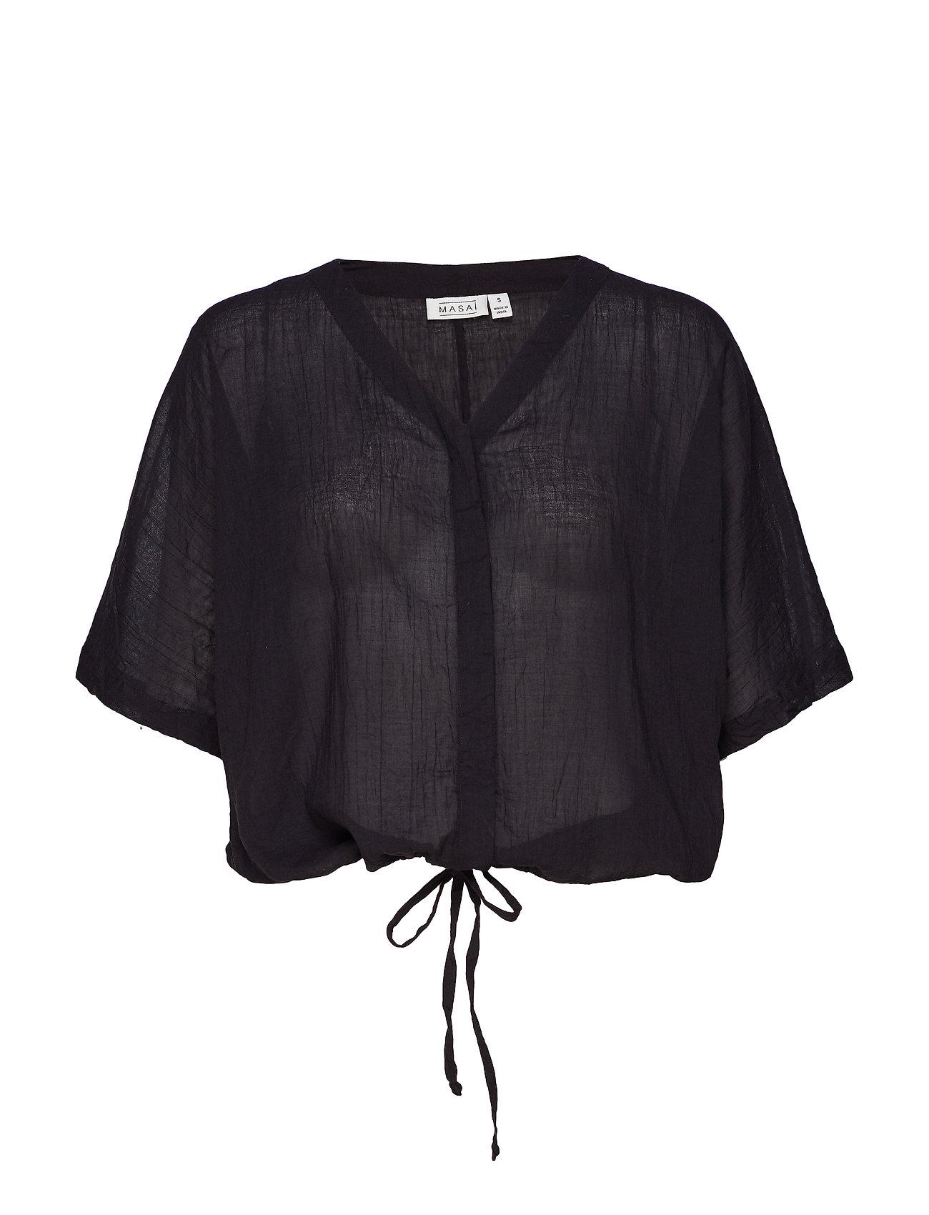 Masai Ilona blouse - BLACK