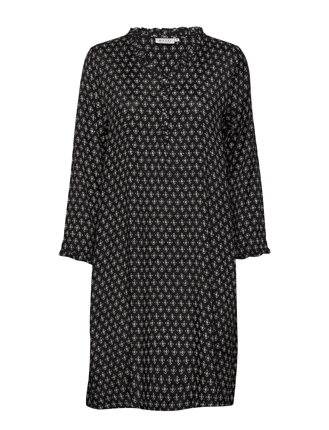 Masai Nita dress - BLACK ORG