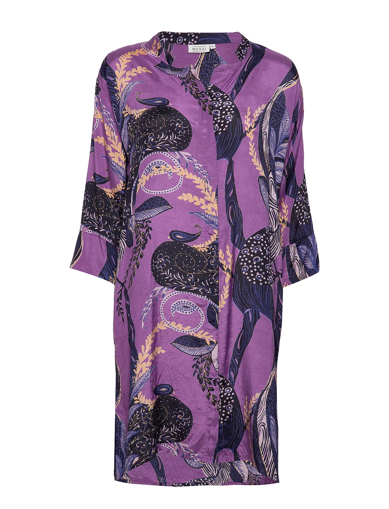 Masai Nimes shirt dress - VIOLET ORG