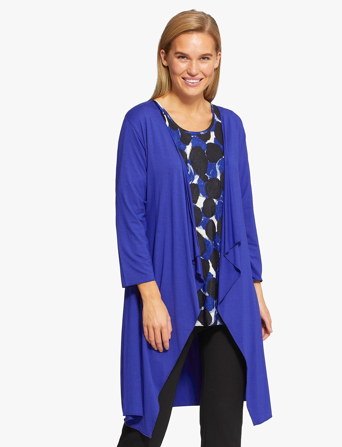 Masai - Ibone - kimona - clematis blue - 0