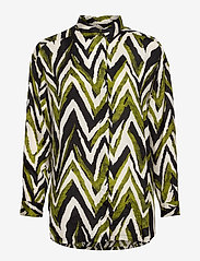 Masai - Inessa - bluzki z długimi rękawami - woodbine - 0