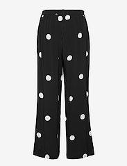 Masai - Perinua - bukser med brede ben - black - 2