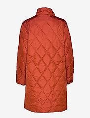 Masai - Tonya coat - wyściełane płaszcze - red ochre - 2